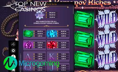 microgaming romanov riches slot casino